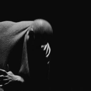 "LaMont Hamilton, Photographic still taken from a live performance of the Dapline! post modern dance piece, 2014, 16"" x 20"""