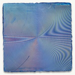 Anoka Faruqee, 2014P-23, 2014, acrylic on linen on panel, 22 1/2 x 22 1/2 inches