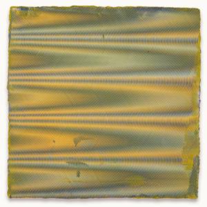 Anoka Faruqee, 2014P-26, 2014, acrylic on linen on panel, 22 1/2 x 22 1/2 inches