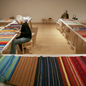 Anne Wilson, Local Industry, 2010, Collaborative performance and textile production