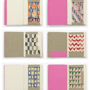 Dianna Frid, Estructura Del Texto Artist's Book