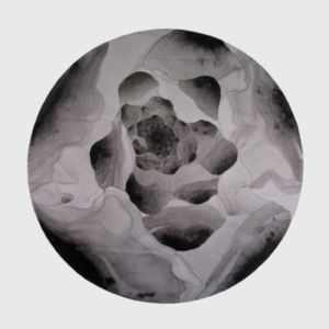 Don Cooper, Portal, 2012, acrylic on synthetic paper, 60 x 60 inches