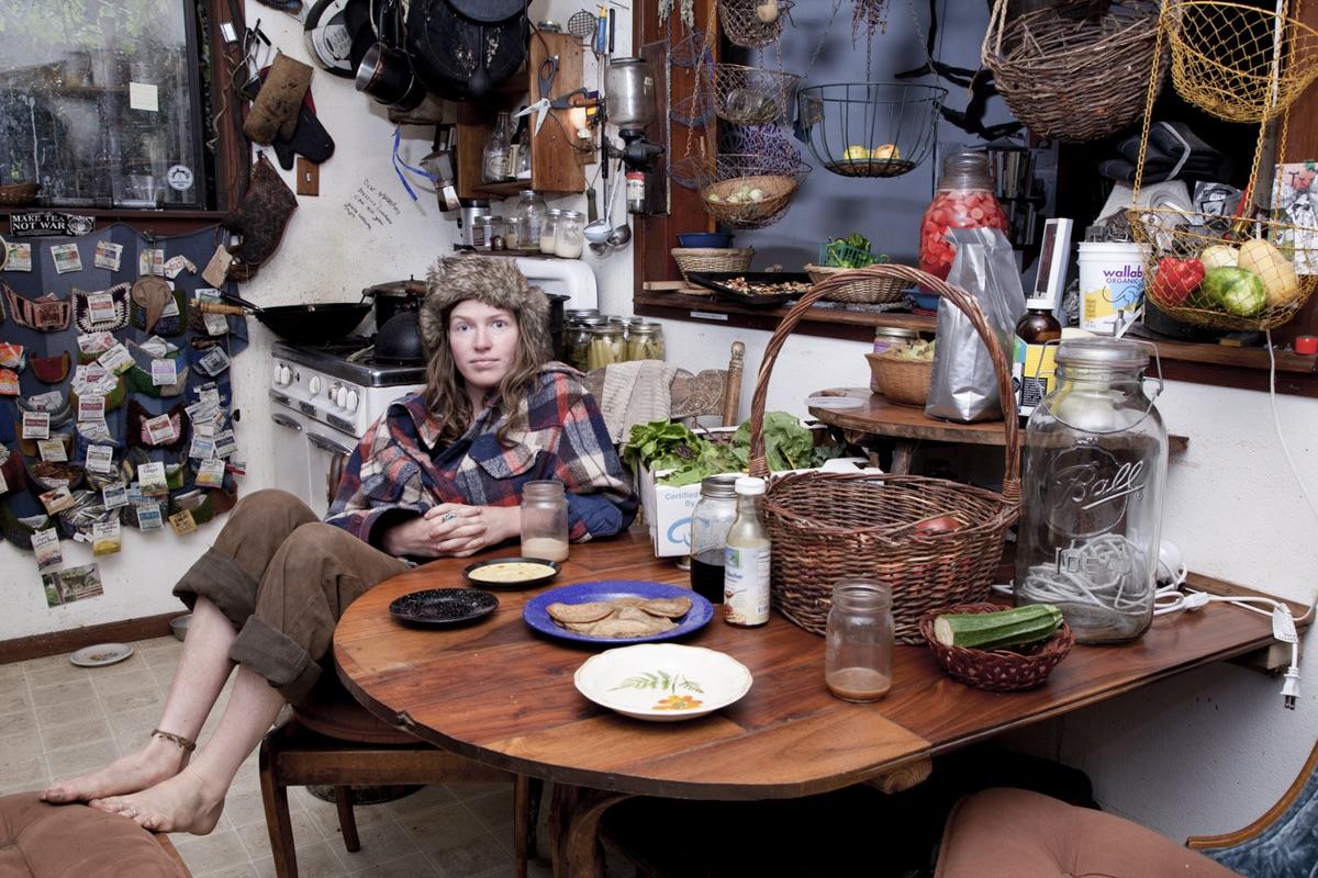 Ruth Dusseault, Aubrey in Kitchen, Green Valley Village (E8), 2013, photography, (film still), 16 x 22 inches