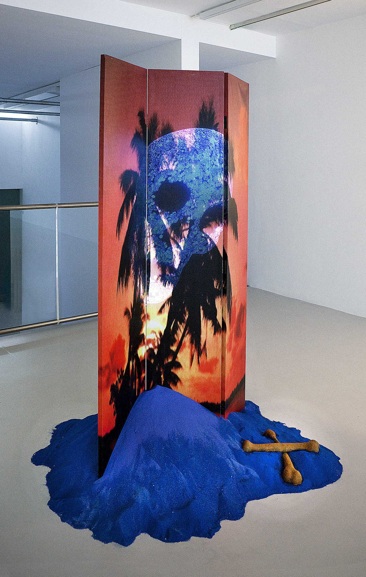 A Random Lottery of Meaningless Tragedies and a Series of Near Escapes, 2012, Installation
