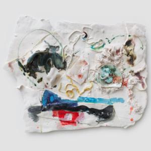 Jennie Jieun Lee, Oh Go Poh Go, glazed porcelain, 2014, 28 x 23 x 4 inches