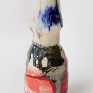 Jennie Jieun Lee, Untitled, glazed stoneware, 2014, 13 x 6.5 inches