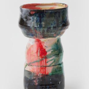 Jennie Jieun Lee, Untitled, glazed stoneware, 2014, 13 x 6.5 inches