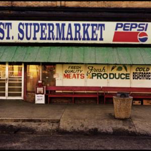 Jerry Siegel, Washington Street Market, 2003