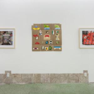 John Neff, installation view at Thomas Kong at Night Club, Chicago, 2015