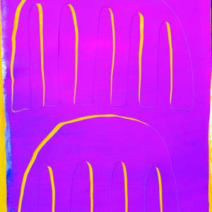 Joseph Wooten, Untitled (magenta and yellow)