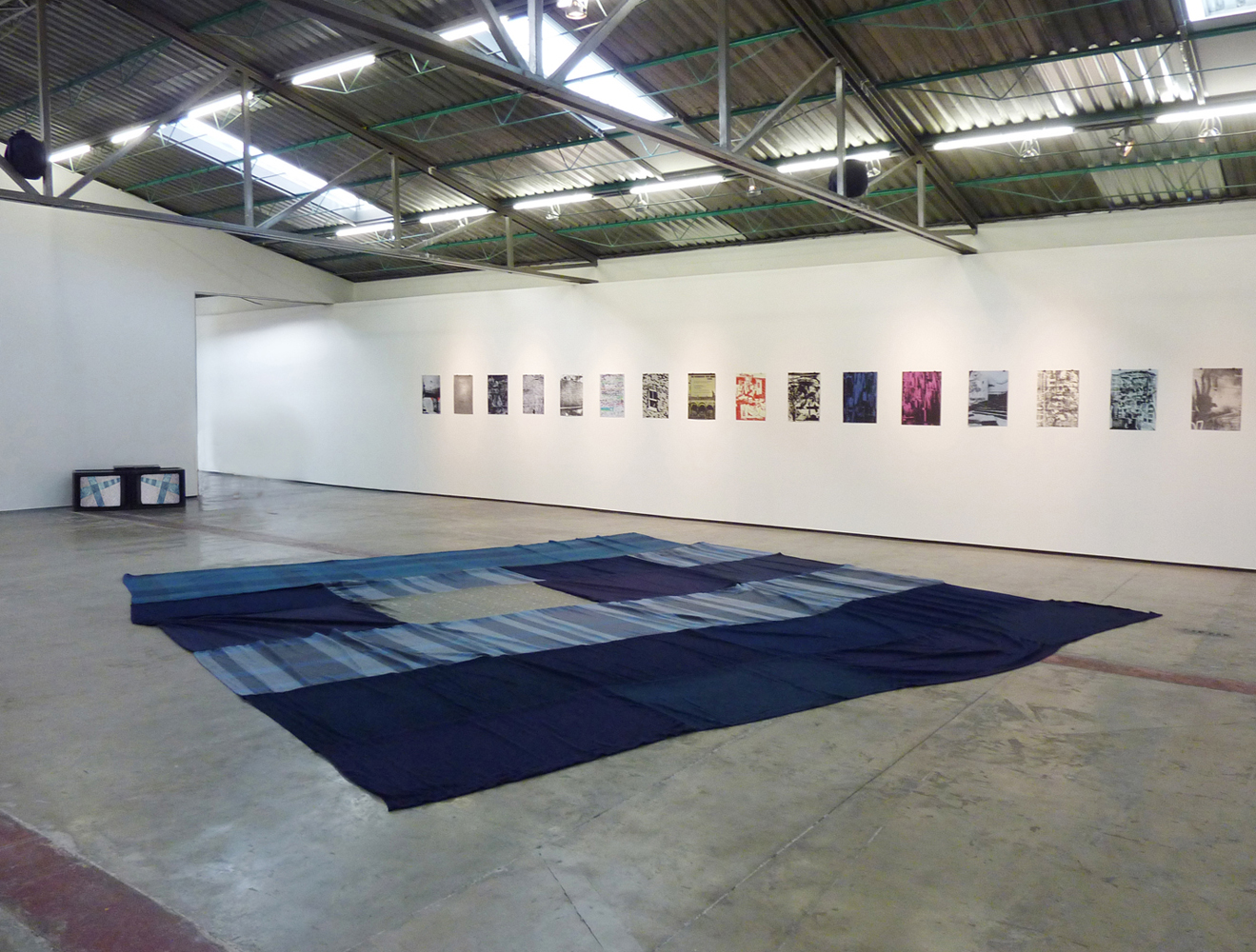 Santiago Cucullu, In The Lavender Haze (installation view)