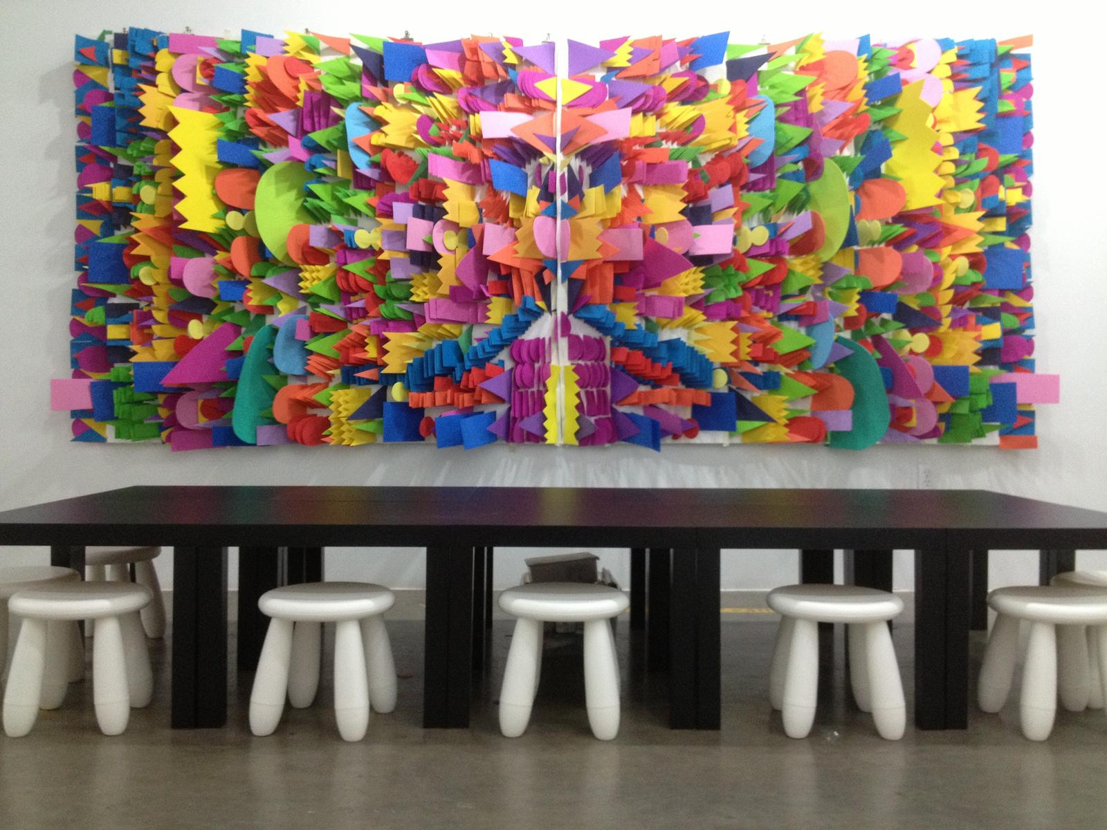 Stephanie Toppin - Foam Installation 1 (Pop Shop 2013)