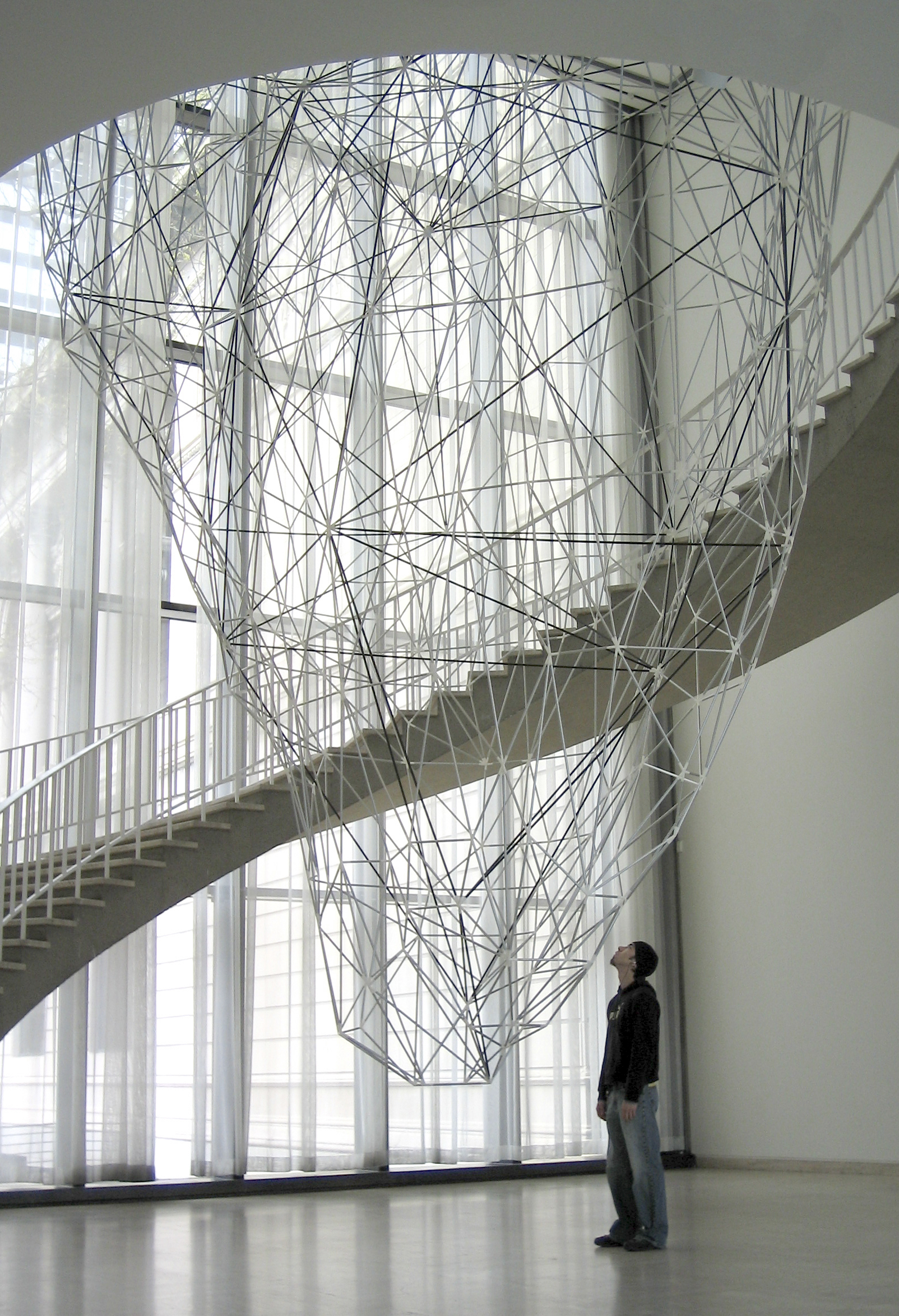 Iñigo Manglano-Ovalle, Iceberg, installation view, Art Institute of Chicago, IL, 2005