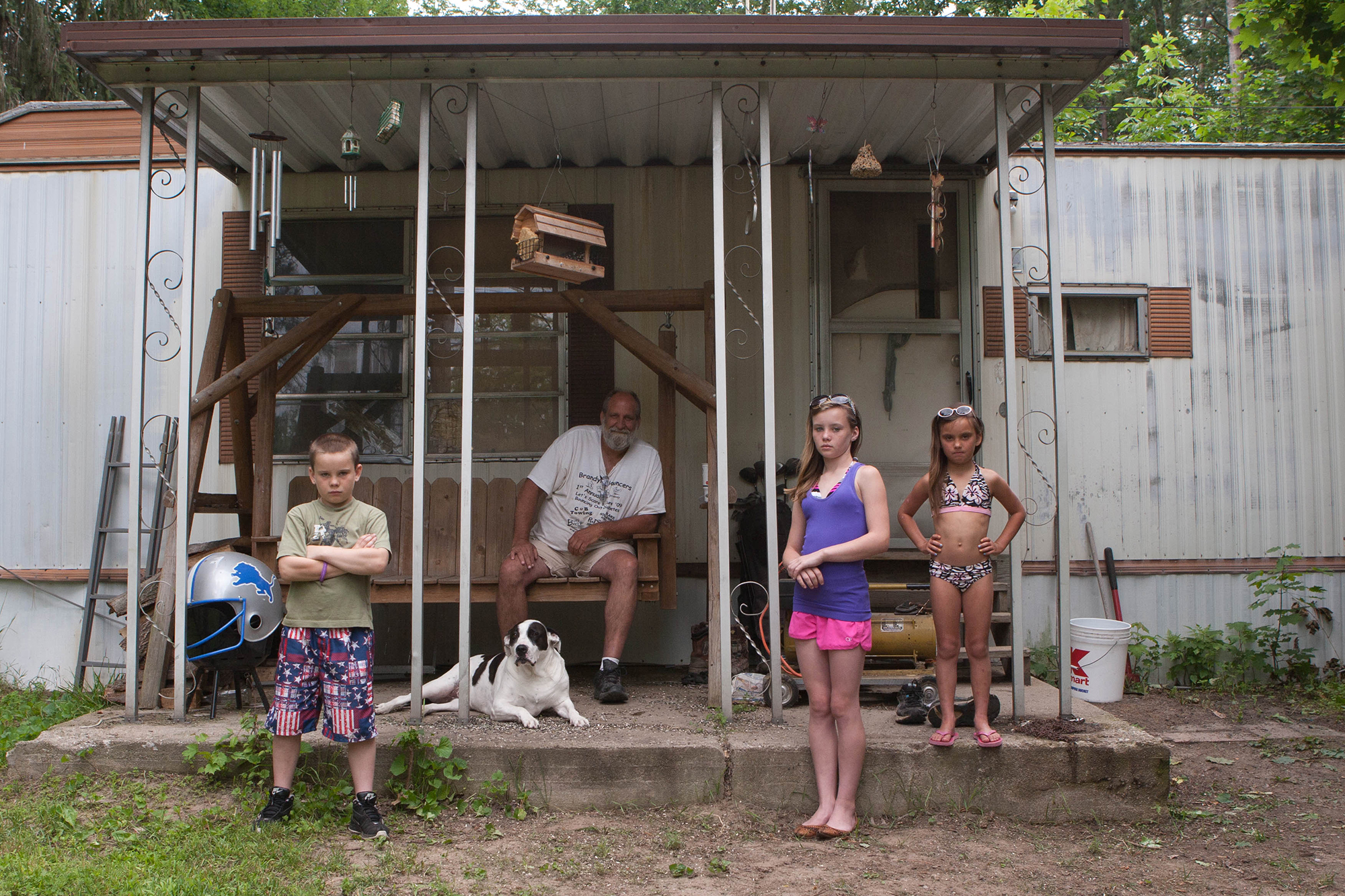 kristine brailey, Kevin and his family, 2014