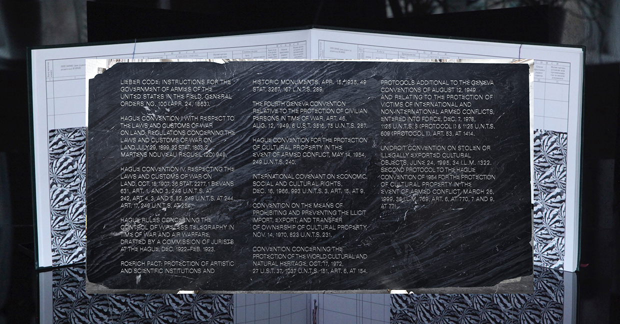 Irena Haiduk, Annex Codex, legal armatures compiled for the project Annex,