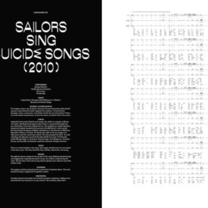 Irena Haiduk, Sailors Sing Suicide Songs, 2010, score