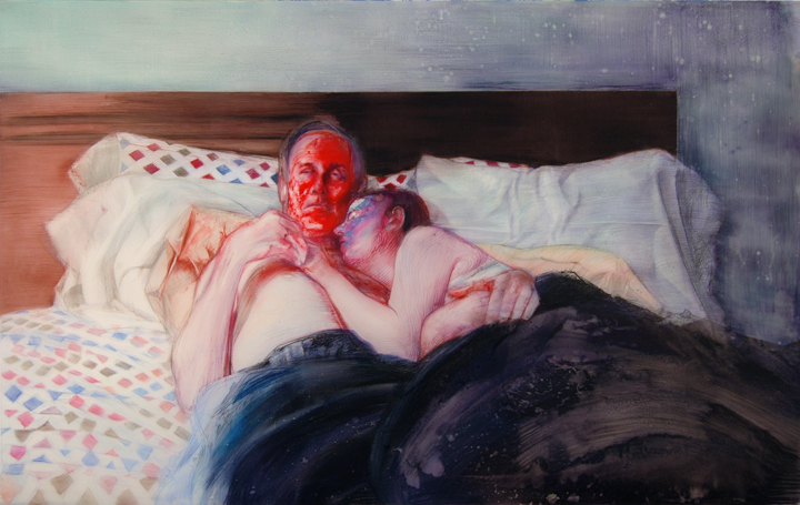 Geoffrey Chadsey, 1. bed_red-face_72dpi