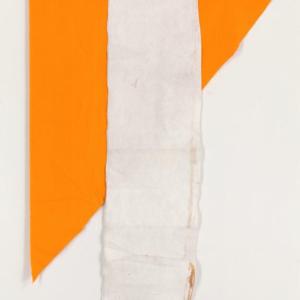 Joe Fyfe, Coconut Curry, 2014, wood, cotton & felt, 71 x 53 inches