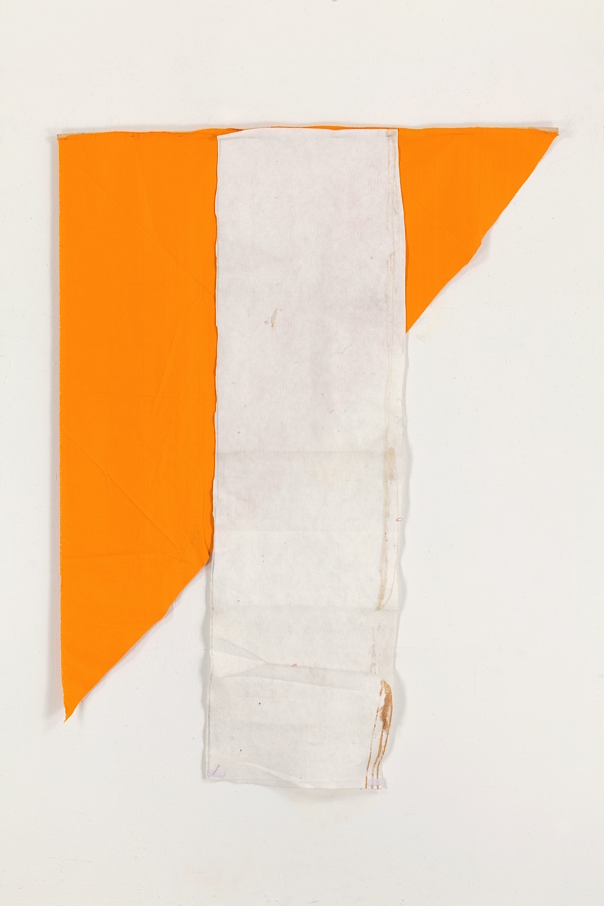 Joe Fyfe, Coconut Curry, 2014, wood, cotton & felt, 71 x 53 inches