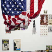 Kameelah Rasheed, No Instructions for Assembly-I (installation shot), 2013, 
