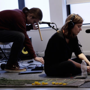 Georgia Sagri, Daily Bread, 3/22/2015, performance, music composition for suling, rebab, voice and electronics, accompanied by Hunter Hunt Hendrix
