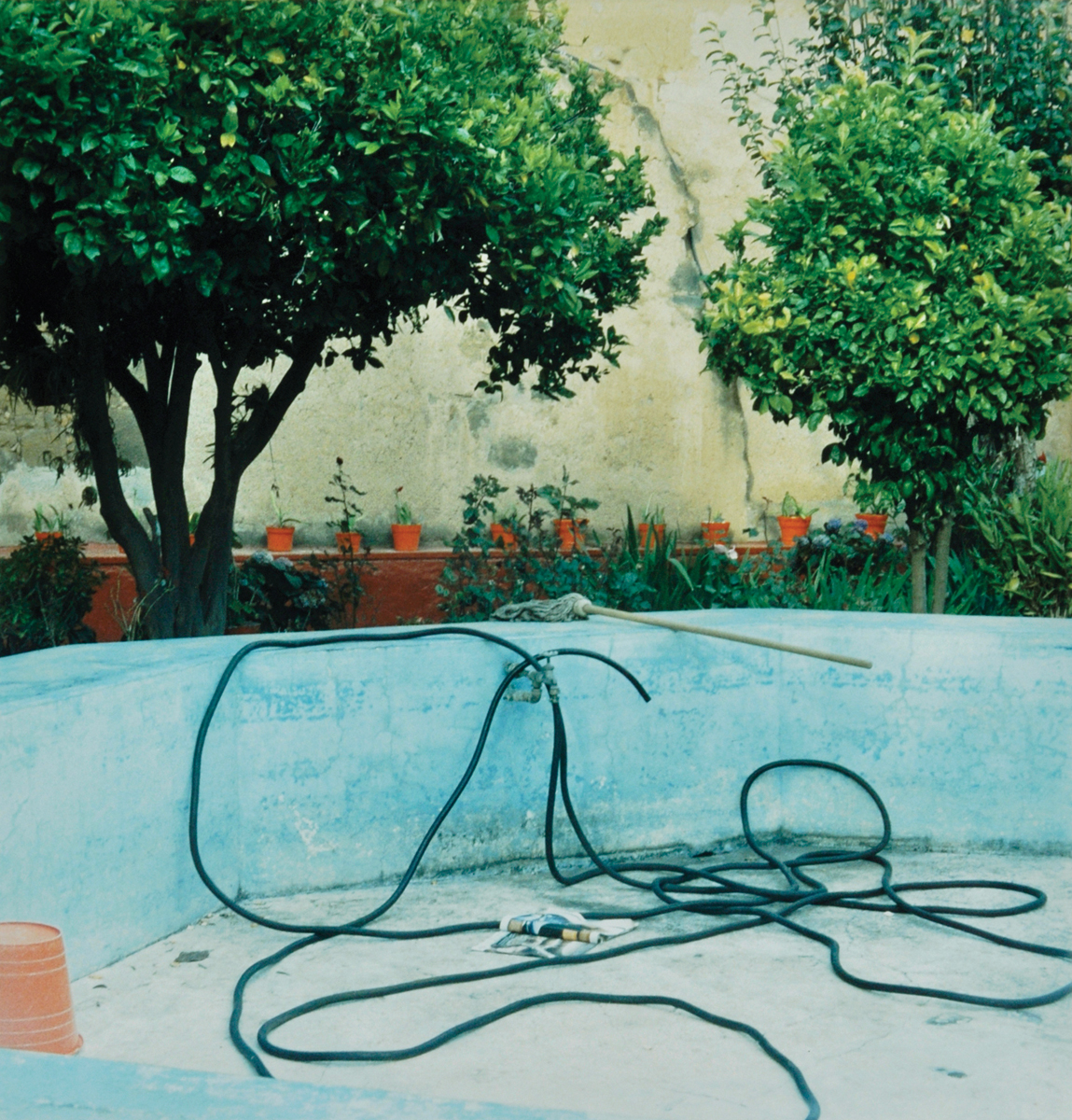 Amy Blakemore, Pool, 2012, chromogenic print, 12 x 12 inches