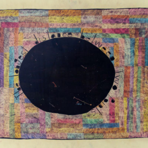 Alicia McCarthy, Untitled, 2013, crayon, housepaint, gouache on found wood, 22 1/2 x 31 inches