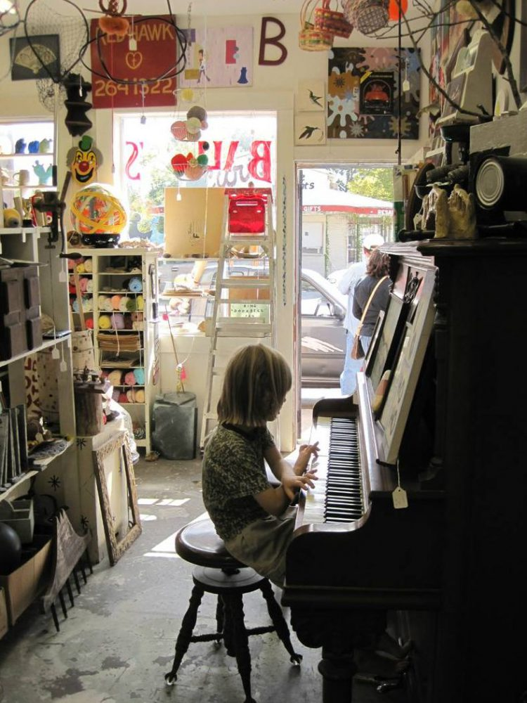 Bill Davenport, Bill's Junk: piano performance series #2, 2010, mixed media, variable