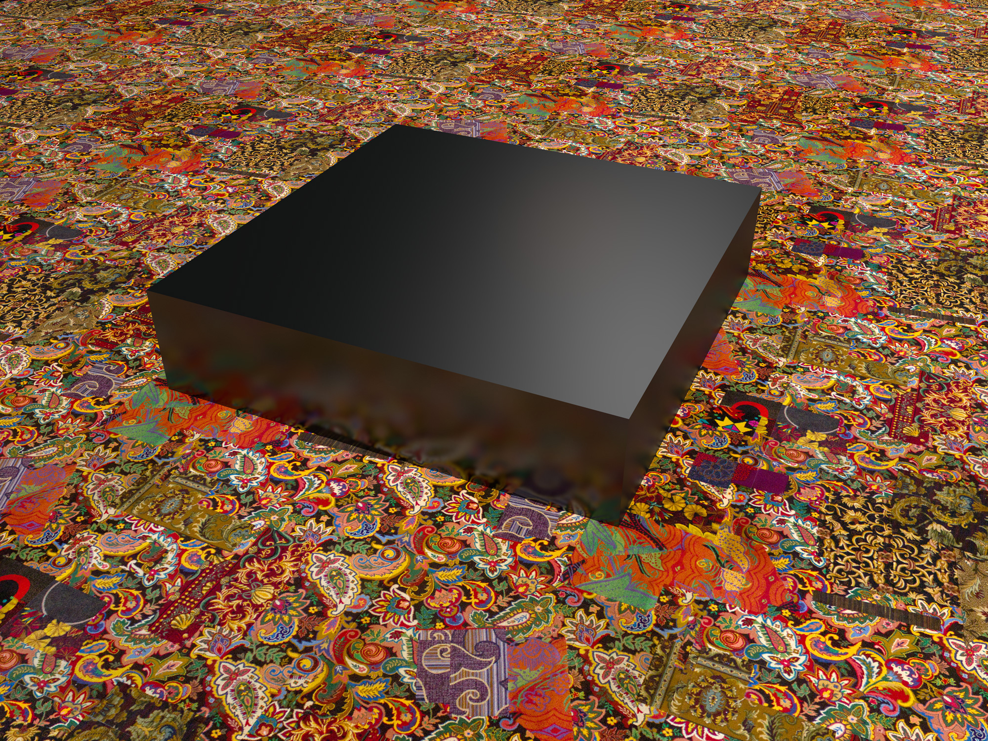 Cayetano Ferrer, Remnant Swatch Repeat with Object, 2012, digital image