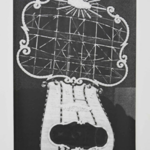 Cayetano Ferrer, Golden Nugget Redaction, 2010, Xerox enlargement from ink drawing on photo