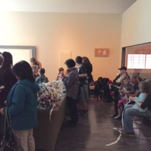 Ramekon O'Arwisters, Crochet Jam, Asian Art Museum (AAM) 50th Anniversary Celebration, San Francisco, 2016