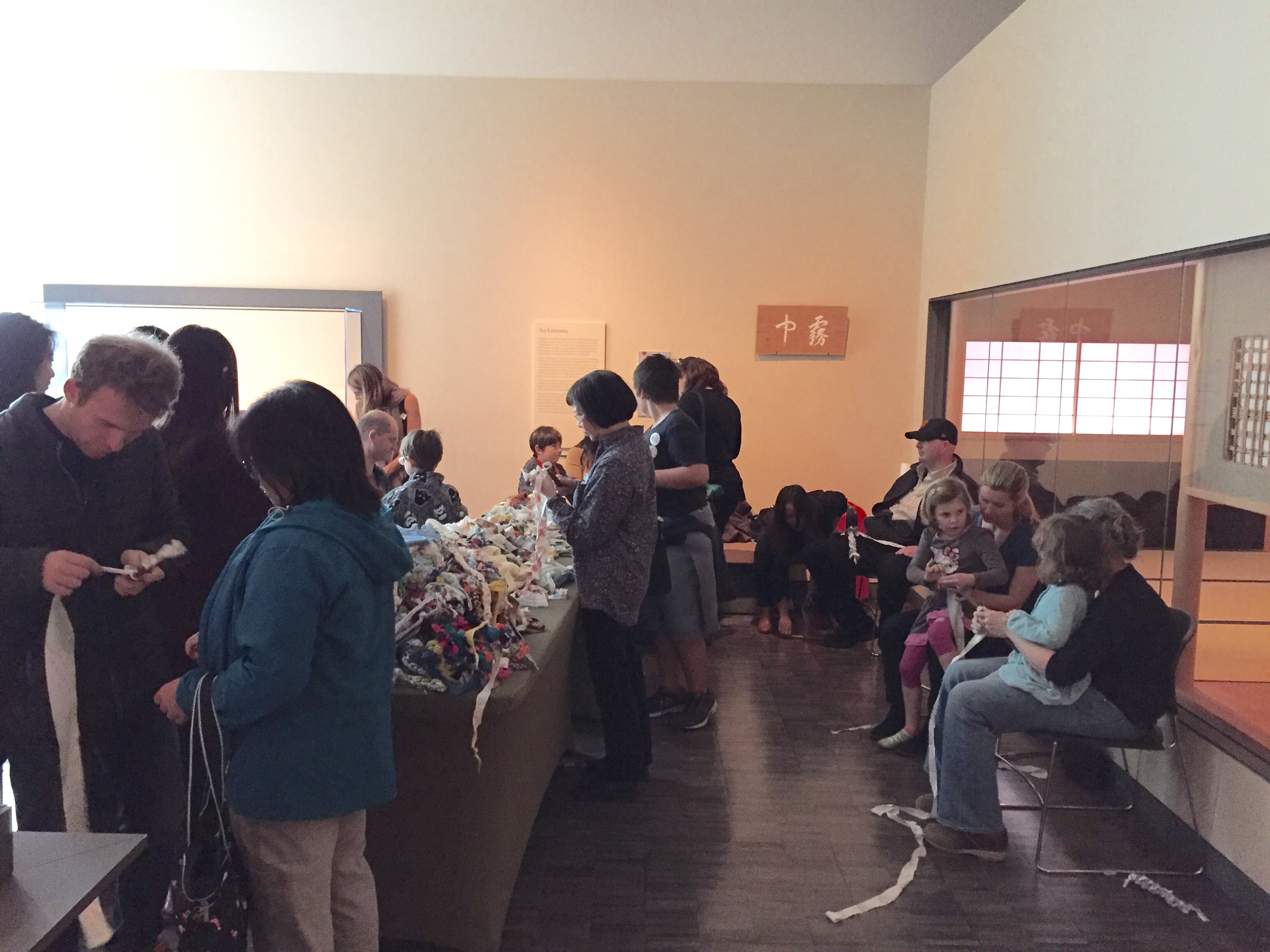 Ramekon O'Arwisters, Crochet Jam, Asian Art Museum (AAM) 50th Anniversary Celebration, San Francisco, 2016