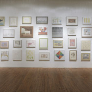 "Francesca Fuchs, ""(Re)Collection"" (installation view), Texas Gallery, Houston, TX, 2013, 49 paintings from 2010 - 2013"