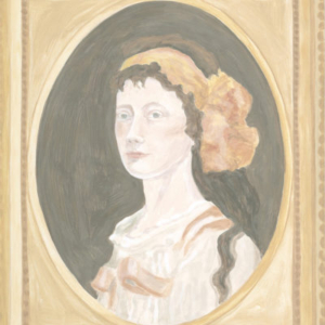 Francesca Fuchs, Framed Painting: 19th Century Portrait, 2011, acrylic on canvas, 29 x 24 inches