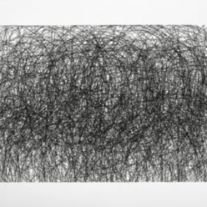 Howie Cherman, The Illustrated Man, 2013, ink on paper, 30 x 16 9/10 inches