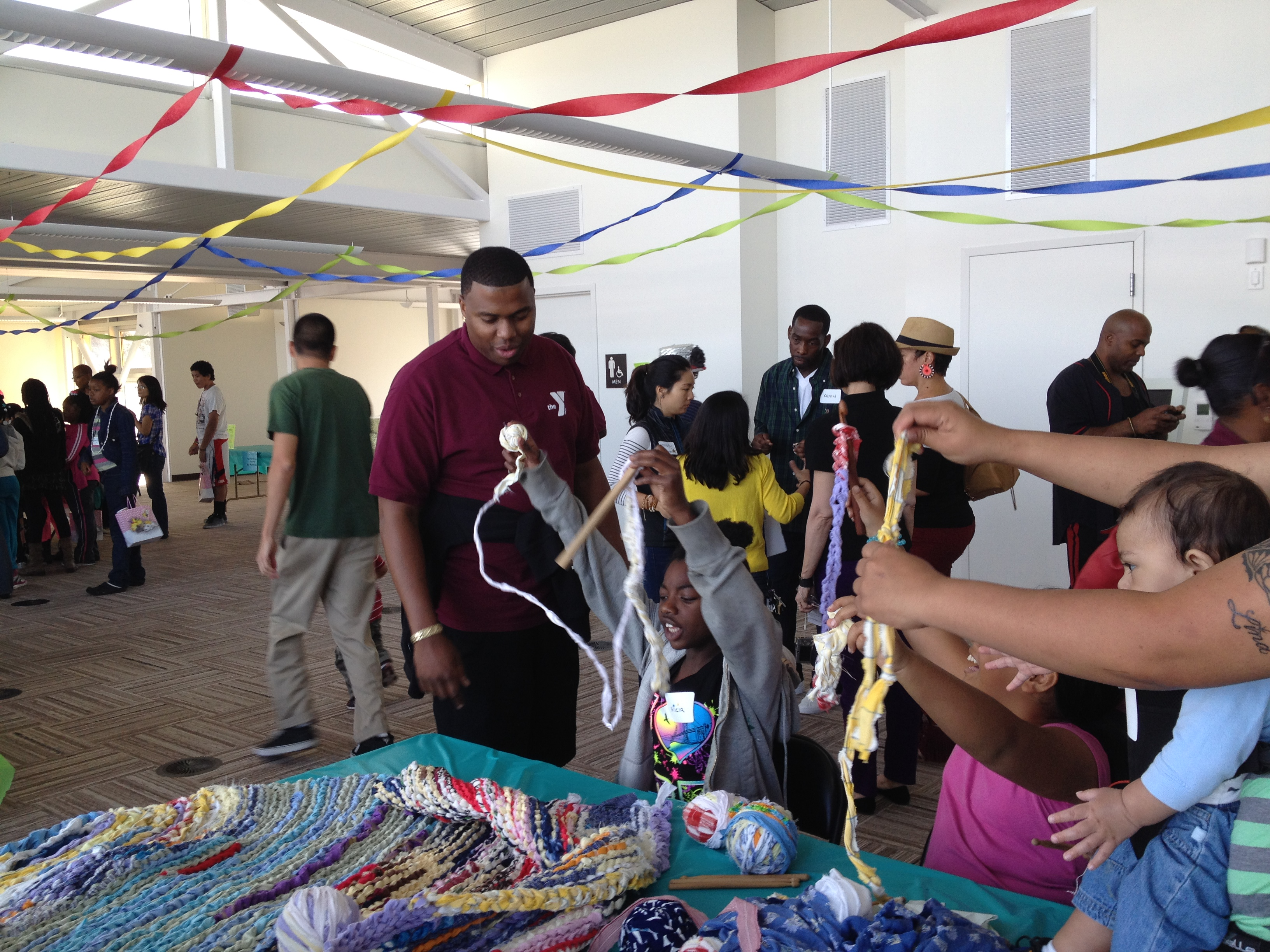 Ramekon O'Arwisters, Crochet Jam, Hunter's Points Community Center, San Francisco, 2014