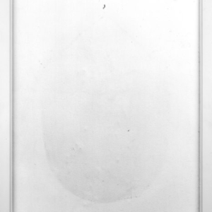 J John Priola, Nail, 1997, gelatin-silver print, 40 x 32 inches framed, from the series White Walls