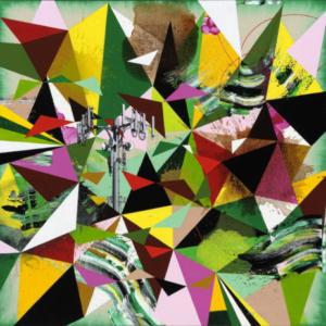 Kara Maria, Joy Spring, 2014, acrylic on canvas, 26 x 26 inches