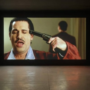 Kerry Tribe, There Will Be _________, 2012, HD video projection, variable