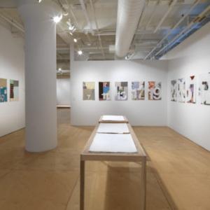 Karen Reimer, Endless Set, 2007, installation view