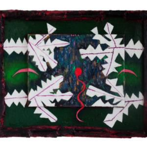 Yevgeniya Baras, Untitled, 2016, oil on canvas, 16 x 20 inches