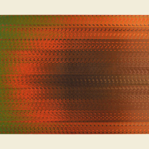 Marie Krane, Duration of Color based on location , 2013, acrylic on canvas, 34 x 51 inches