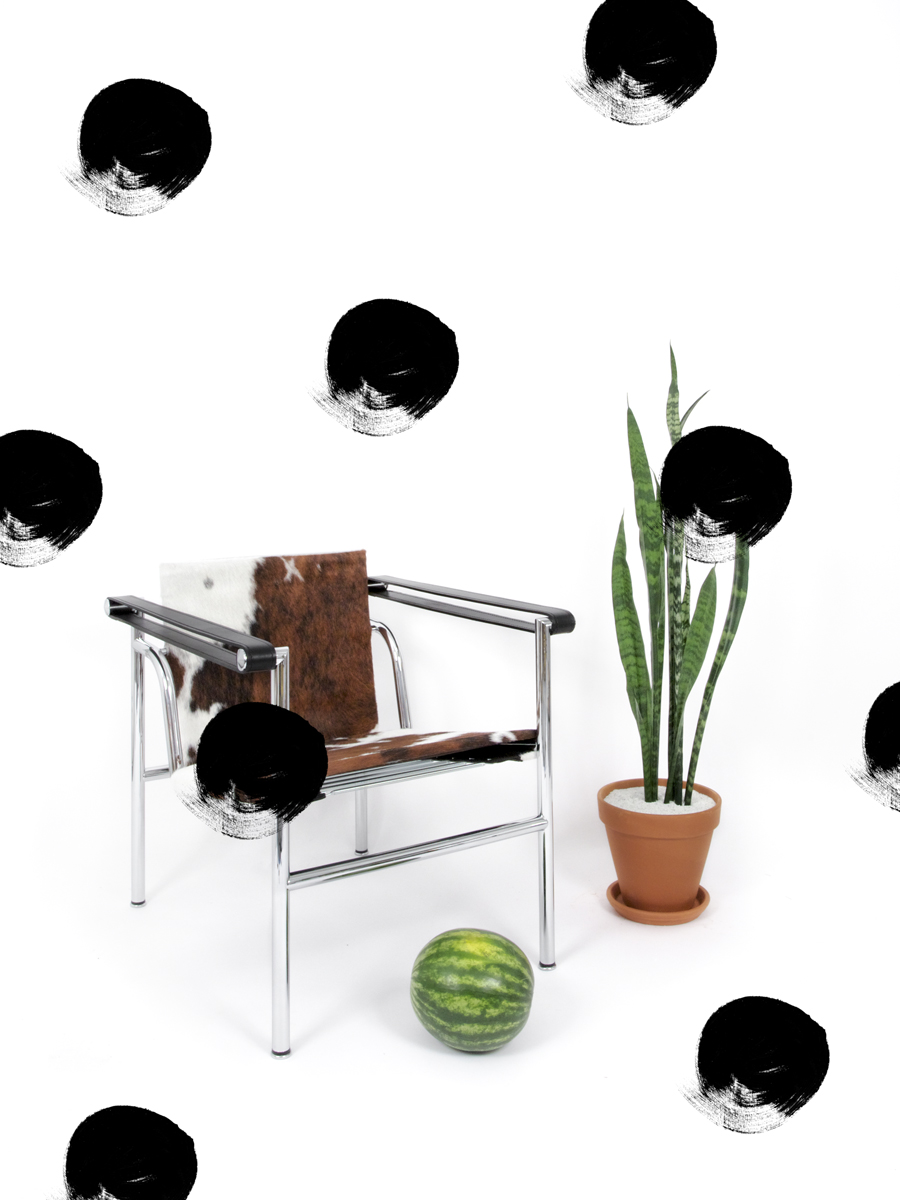Margaret Lee, Chair and Dots, 2013, archival pigment print, 9 x 12 inches