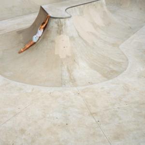 Melanie Schiff, Skatepark, 2009, archival inkjet on paper, 40 x 60 inches
