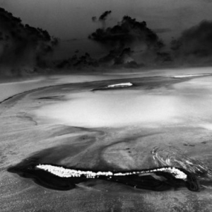 Michael Light, Mile-Wide, 200' Deep 1952 MIKE Crater, 10.4 Megatons, Elugelab Island, Enewetak Atoll, Marshall Islands; 2003