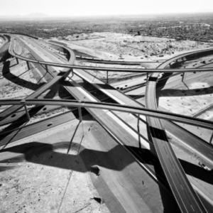 Michael Light, Interchange of Highways 60 and 202 Looking West, Mesa, AZ; 2007