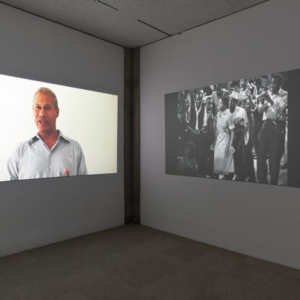 Nicole Miller, Believing is Seeing, 2013, clips from 18 channel HD video installation, variable