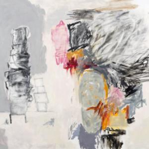 Rocio Rodriguez, Idol Worship, 2013, oil on canvas, 72 x 74 inches