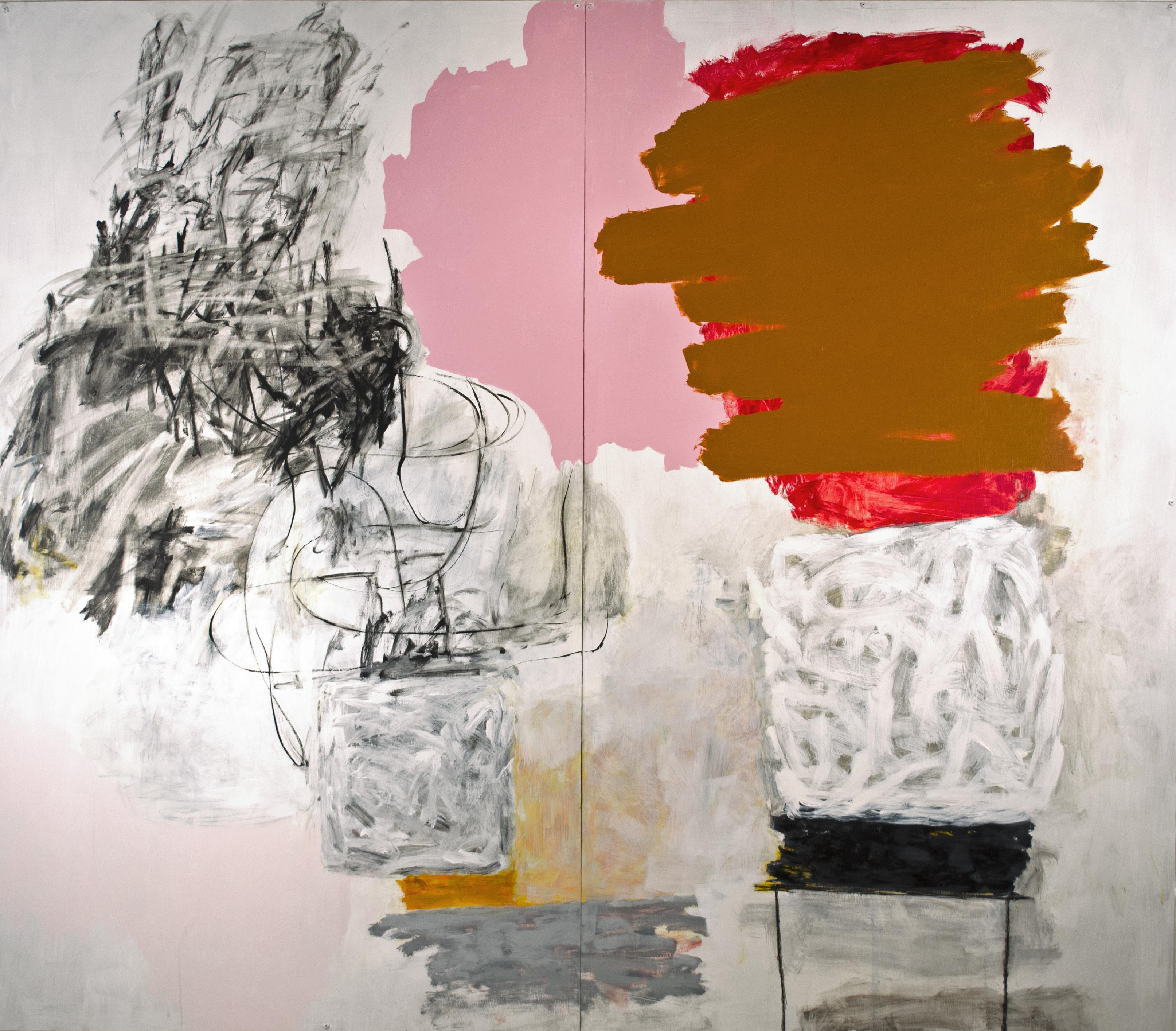 Rocio Rodriguez, October, 29 2014, 2014, pastel, oil pastel, 18 x 24 inches