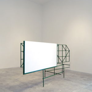 Carl Suddath, Untitled, 2006, steel, acrylic, paint, 40 3/4 x 95 x 30 inches